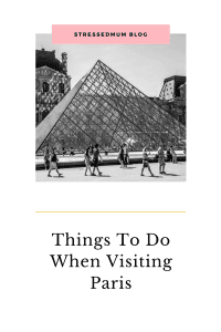 Things to do when visiting Paris