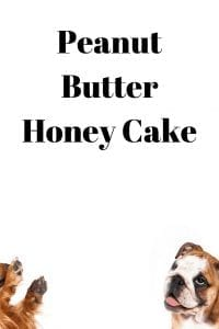 Peanut Butter Honey Cake