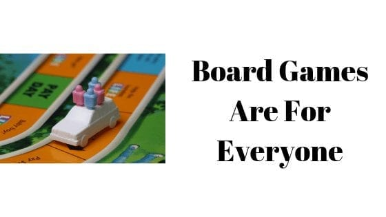 Board Games Are For Everyone