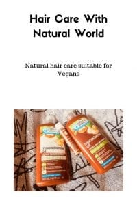 Hair Care With Natural World