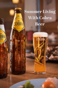 Summer Living With Cobra Beer