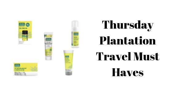 Thursday Plantation Travel Must Haves