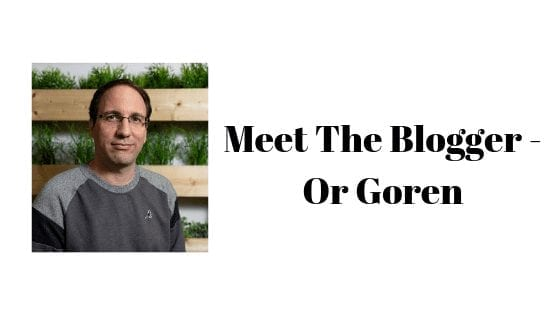 Meet The Blogger - Or Goren