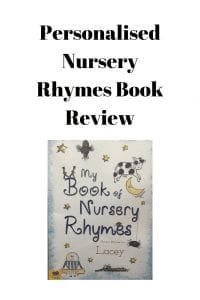 Personalised Nursery Rhymes Book Review