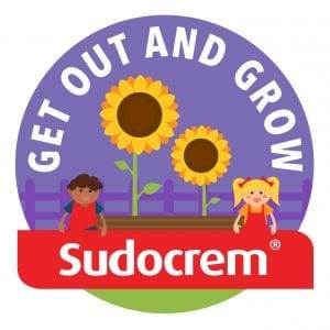 Sudocrem Get Out and Grow Logo