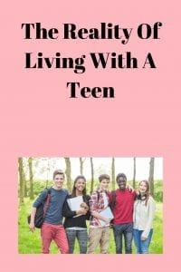 The Reality Of Living With A Teen
