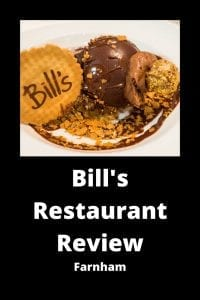 Bills Restaurant Farnham