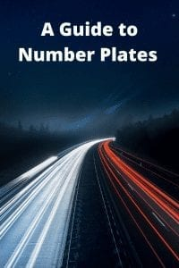 A Guide to Number Plates