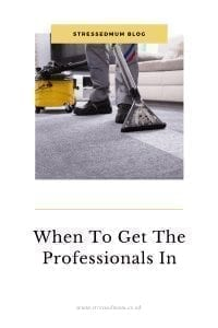 When To Get The Professionals In