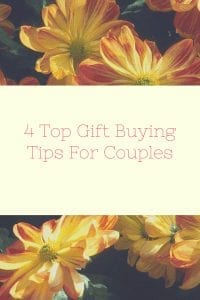 4 Top Gift Buying Tips For Couples