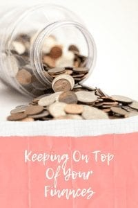 Keeping On Top Of Your Finances