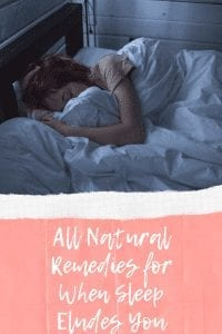 All Natural Remedies for When Sleep Eludes You