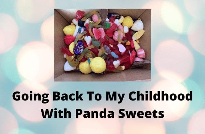 Going Back To My Childhood With Panda Sweets
