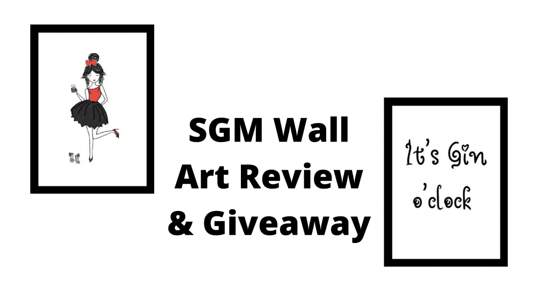 SGM Wall Art Review & Giveaway