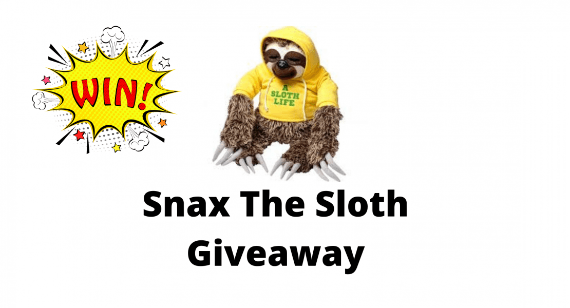 Snax The Sloth Giveaway