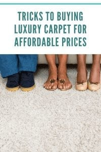Tricks To Buying Luxury Carpet For Affordable Prices