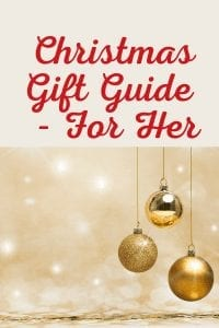 Christmas Gift Guide - For Her