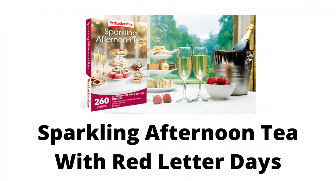 Sparkling Afternoon Tea With Red Letter Days