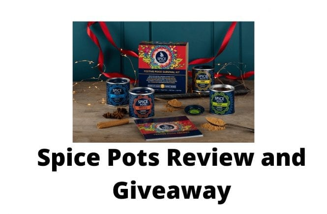 Spice Pots Review and Giveaway