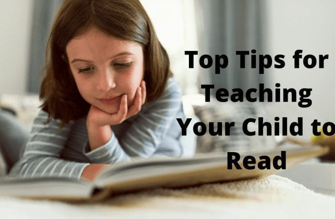 Top Tips for Teaching Your Child to Read