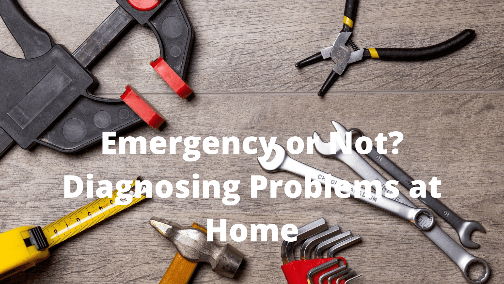 Emergency or Not? Diagnosing Problems at Home