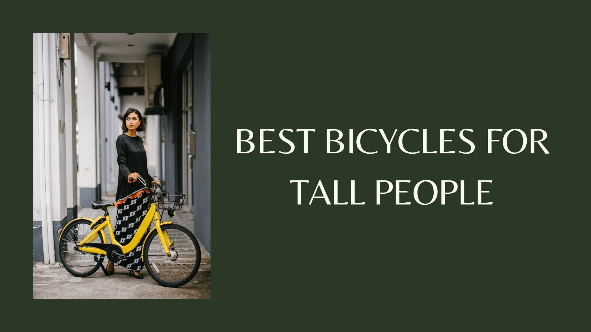 Best Bicycles for Tall People