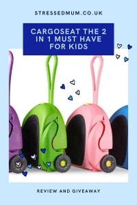 CarGoSeat The 2 in 1 Must Have For Kids