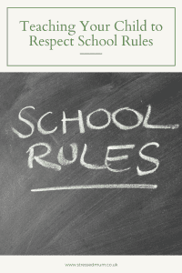 Teaching Your Child to Respect School Rules