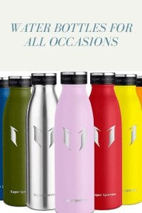 Water Bottles For All Occasions
