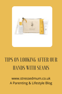 Tips On Looking After Our Hands With SEAMS