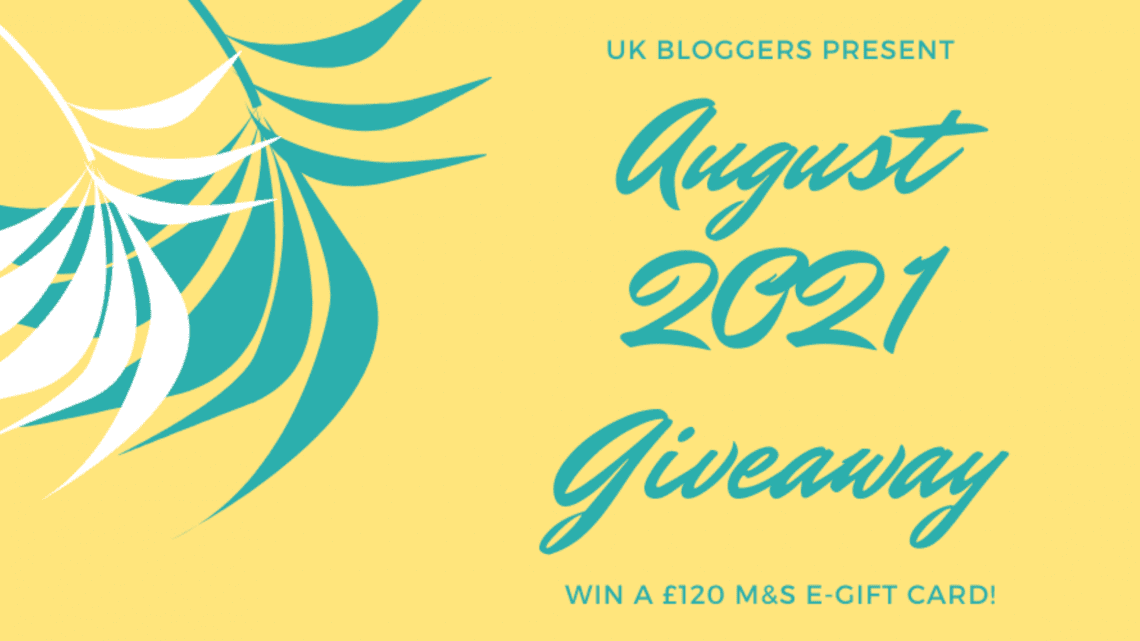 August 2021 Blogger Giveaway