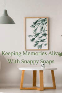 Keeping Memories Alive With Snappy Snaps