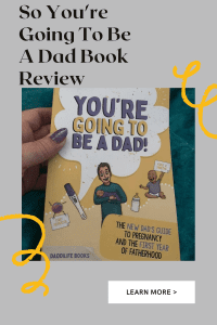 So You're Going To Be A Dad Book Review